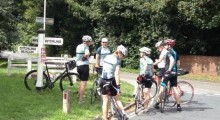 Islington CC riders conquer Ditchling Beacon