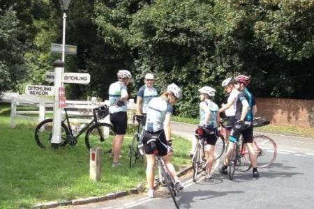 Islington CC riders conquer Ditchling Beacon