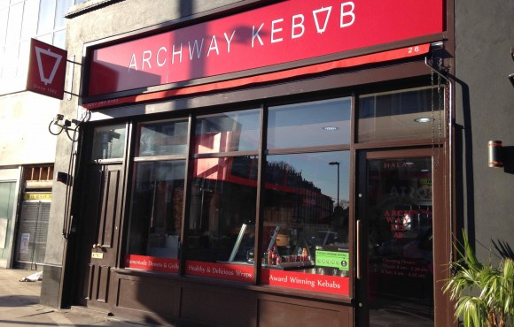 Front of Archway Kebab