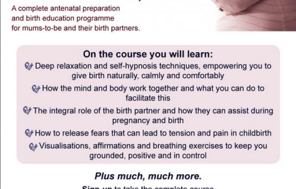 Hypnobirthing class in Highgate